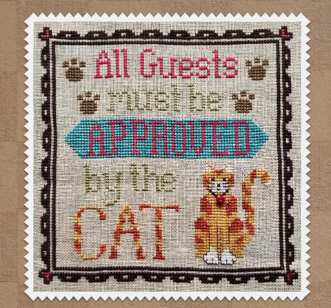 Waxing Moon Designs ~ Cat Owner's Welcome (2 patterns included)