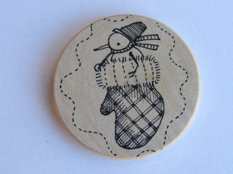 Michelle Palmer Needle Minder ~ Mittens N10 (One of a Kind!)