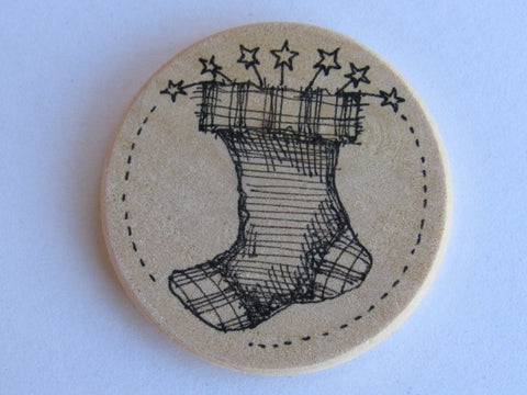 Michelle Palmer Needle Minder ~ Stockings N2 (One of a Kind!)