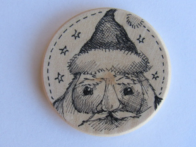 Michelle Palmer Needle Minder ~ Santa N4 (One of a Kind!)