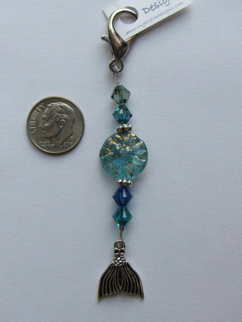 Mermaid's Tail Mini Fob