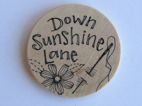 Michelle Palmer Needle Minder ~ Down Sunshine Lane F2 (One of a Kind!)