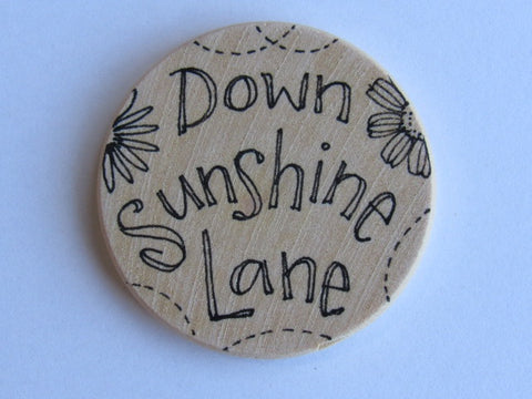 Michelle Palmer Needle Minder ~ Down Sunshine Lane F3 (One of a Kind!)