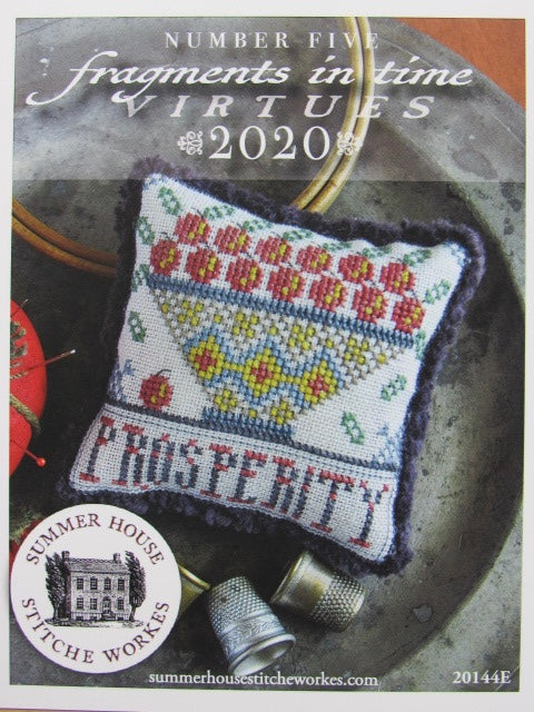 Summer House Stitche Workes ~ Fragments In Time 2020 - no. 5 Prosperity