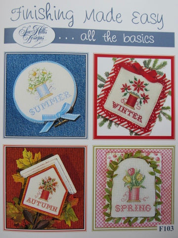 Sue Hillis Designs ~ Finishing Made Easy