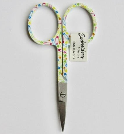 Safety Pins Embroidery Scissors