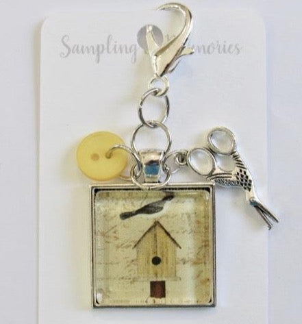 Sampling of Memories ~ Bird House Scissor Keep (VERY Limited #)