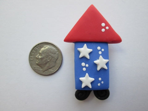 Needle Minder ~ Fireworks #2 (Clay)