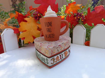 Faithwurks Designs ~ I Love Fall A Latte Kit   ***VERY Limited # Available