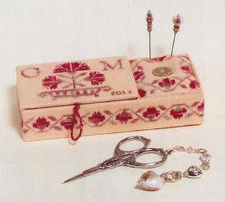 GPA - Giula Punti Antichi ~ Rose Carnation Romina's Sewing Box