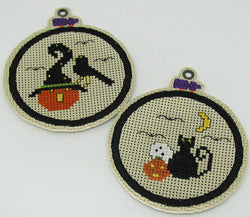 Praiseworthy Stitches ~ Zippy hoops for Praiseworthy Stitches Halloween Frights