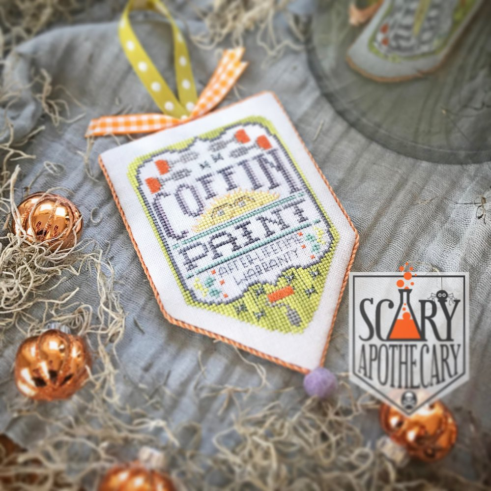 Hands On Design ~ Scary Apothecary Series ~ Coffin Paint