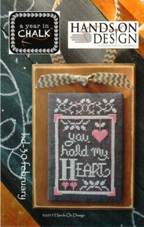 Hands On Design ~ A Year In Chalk ~ February