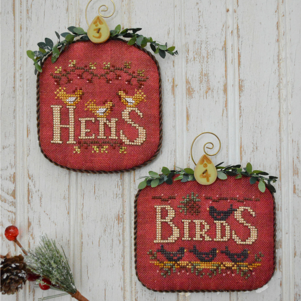 Hands On Design ~ 12 Days Hens & Birds (part 2)