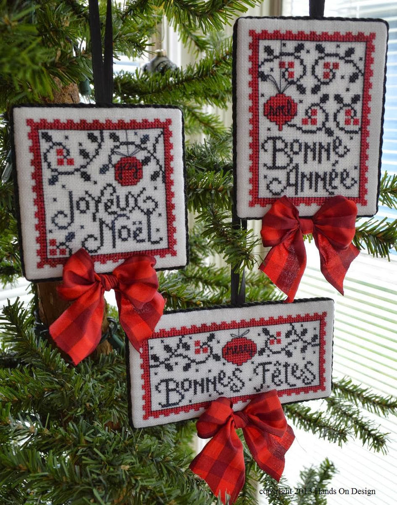 Hands On Design ~ Joyeux Noel