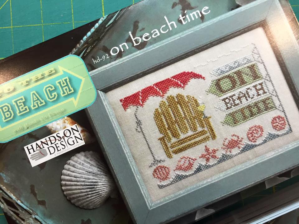 Hands On Design ~ On Beach Time….