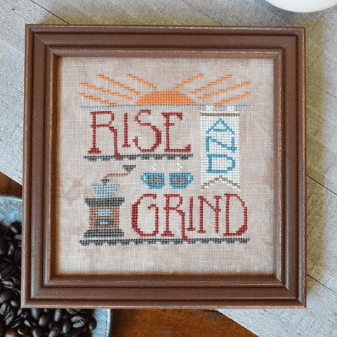 Hands On Design ~ Rise & Grind ~ Cool Beans Series
