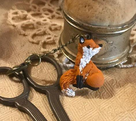The Primitive Hare ~ Spirit of the Woods Fox Fob