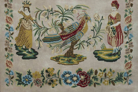 Hands Across The Sea Samplers ~ Sarah Daws - Circa 1840