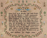 Hands Across The Sea Samplers ~  Mary Lea 1793