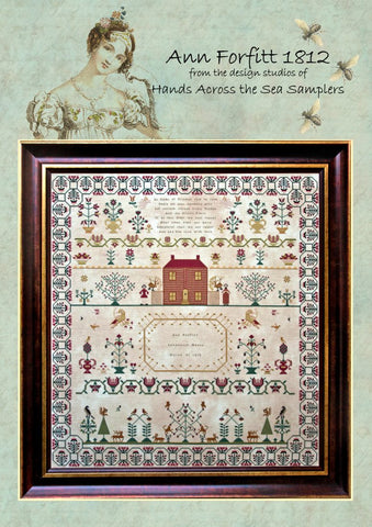 Hands Across The Sea Samplers ~ Ann Forfitt 1812
