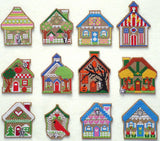 Handblessings ~  Gingerbread House of the Month w/charms