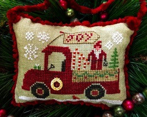 Homespun Elegance ~ Christmas Joy Truck