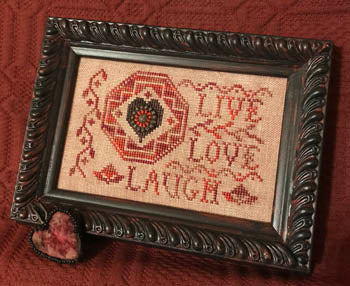 Homespun Elegance ~ Quaker Love Letter
