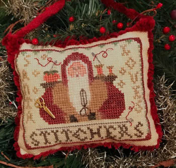 Homespun Elegance ~ Santa Loves Stitchers - 2020 Santa