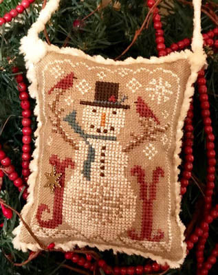 Homespun Elegance ~ Snow Joyful - 2020 Snowman