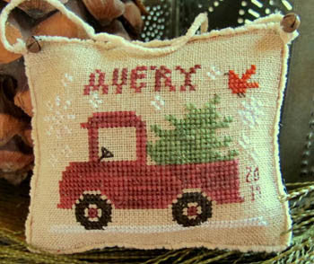 Homespun Elegance ~ Avery's Little Red Truck
