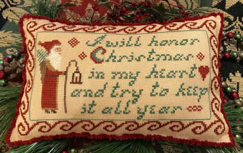 Homespun Elegance ~ I Will Honor Christmas