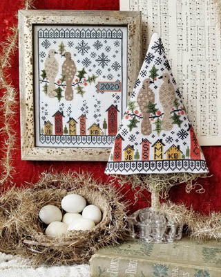 hello from Liz Matthews ~ Second Day Of Christmas Sampler & Tree