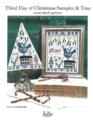 hello from Liz Matthews ~ Third Day Of Christmas Sampler& Tree