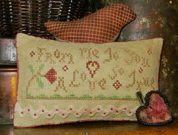 Homespun Elegance ~ A Love So True