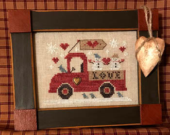 Homespun Elegance ~ Love Truck