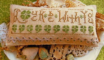 Homespun Elegance ~ Luck Be With You