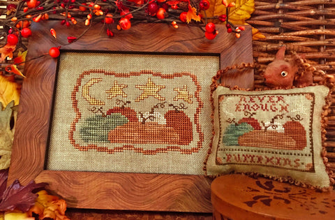 Homespun Elegance ~ Never Enough Pumpkins