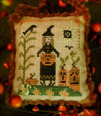 Homespun Elegance ~ Pumpkin Gatherer