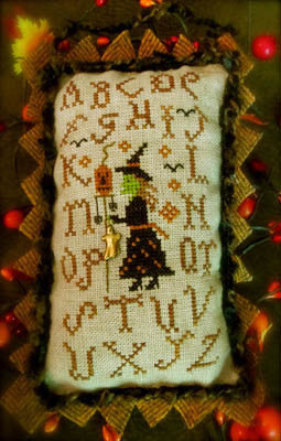 Homespun Elegance ~ Sampler Witch