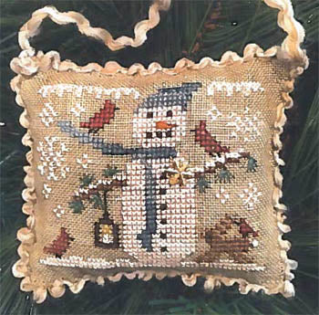Homespun Elegance ~ Snowy Friends