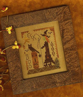 Homespun Elegance ~ Stitching Witch