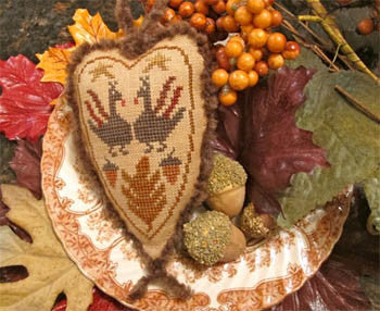 Homespun Elegance ~ Turkey Love
