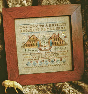 Homespun Elegance ~ The Way To A Friends House