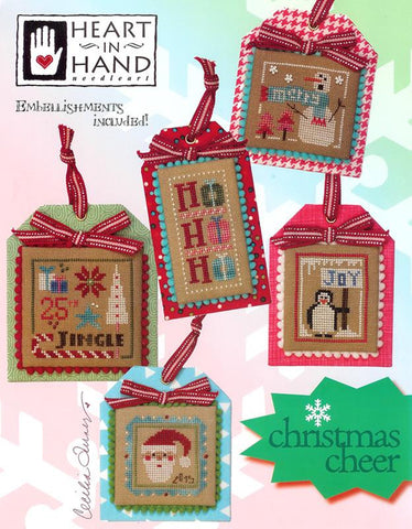 Heart In Hand ~ Christmas Cheer w/emb.