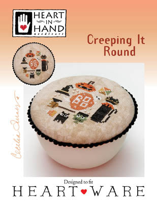 Heart In Hand ~ Creeping It Round (w/embellishments)