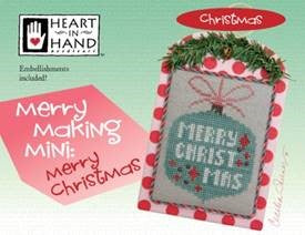 Heart In Hand ~ Merry Making Mini - Merry Christmas