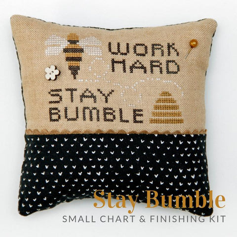 Heart In Hand ~ Stay Bumble w/emb