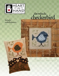 Heart In Hand ~ Checkerbird w/emb