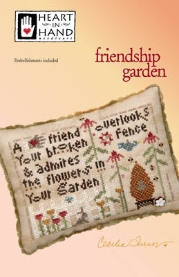 Copy of Heart In Hand ~ Friendship Garden (w/emb)